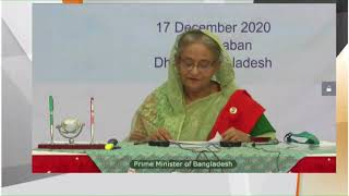 PM Modi and Bangladesh's PM Sheikh Hasina hold India-Bangladesh Bilateral Virtual Summit | PMO