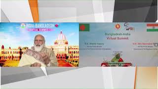 PM Modi's remarks at India-Bangladesh Bilateral Virtual Summit with Bangladesh's PM Sheikh Hasina