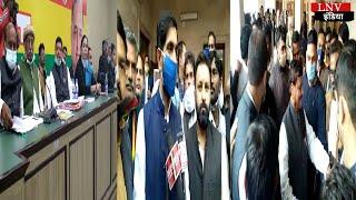 प्रसपा मुखिया शिवपाल यादव ने पार्टी के ज़िलाध्यक्षों के साथ की बैठक