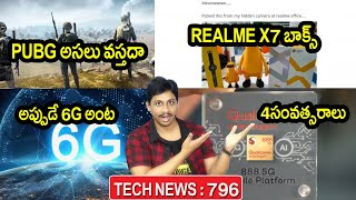 TechNews in Telugu 796:PUBG Date,realme x7,china 6g,Redmi 9 power,google updates,ios 14,bitcoin