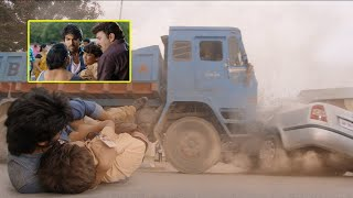 Bruce Lee Tamil Scenes | Ram Charan Saves Sameer's Child From An Accident | Rakul Preet | Arun Vijay