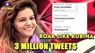Bigg Boss 14: Rubina Dilaik Fans Biggest Trend 3M+ Tweets Record | Congrats RubiHolics