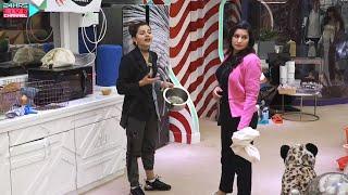 Bigg Boss 14 Live Feed: Rubina Aur Nikki Me Hui Behas, Abhinav Ne Diya Nikki Ka Sath Captaincy Task