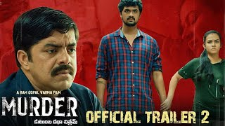 MUEDER Official Trailer 2 | RGV | RGV ' s #Murder | Latest 2020 Movie Trailers | Top Telugu TV