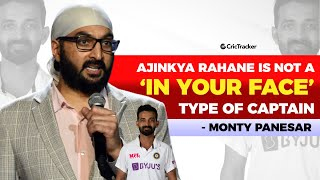 What Is The Difference Between Captaincy Of Ajinkya Rahane and Virat Kohli? - Monty Panesar Explains