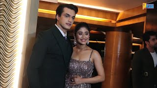YRKKH Team Shivangi Joshi & Mohsin Khan Full Interview - International Iconic Awards 2020 Season 6