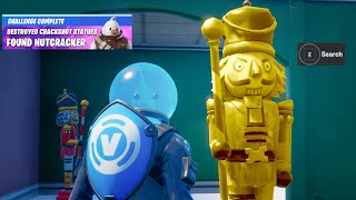 Fortnite Destroy Nutcracker Statues Reward