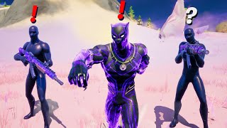 Fortnite Pretending to be Boss Black Panther (New Bosses)