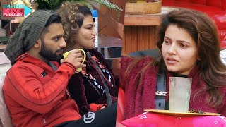 Bigg Boss 14 Live Feed: Rahul Vaidya Kar Rahe Hai Rubina Aur Abhinav Ka Nomination Discuss