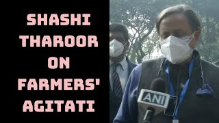 Farmers' Agitation: 'President Has Moral Role In Guiding Govt,' Says Shashi Tharoor | Catch News
