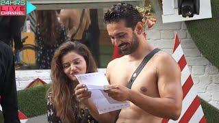 Bigg Boss 14 Live Feed: Abhinav Shukla Ko Mila Christmas Gift, Mummy Papa Ka Letter Jasmin Ne DIya