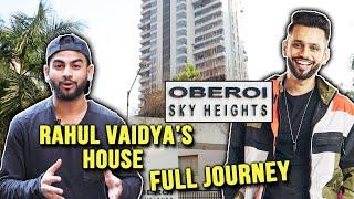 Rahul Vaidya's House In Mumbai | Oberoi Sky Heights | Lifestyle | Bigg Boss 14
