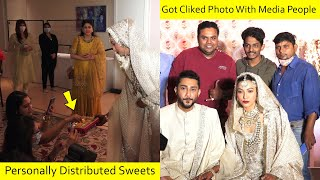 Media People Surprised By Gauhar Khan and Zaid Darbar Humbleness At The Wedding. Check out the video