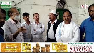 Muslim Hostel Madeena Building Gulbarga Me Chairman DWC Ki Visit