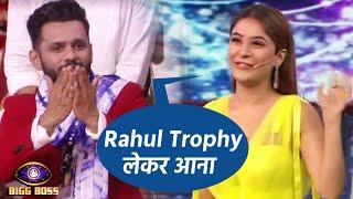 Bigg Boss 14: Shenaaz Gill Ka Rahul Vaidya Ko Bada Support, Trophy Lekar Aana   Weekend Ka Vaar