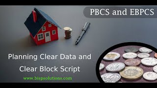 Planning Clear Data and Clear Block Script | Scripting in EPBCS | EPBCS Tutorial