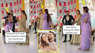 Gauahar Khan new sister in law Afsana Shaikh Ne Kiya Bhaiya aur Bhabhi ki tareef. Very Cute Video