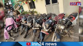 कोरबा - बाइक चोरी मामले में 6 आरोपी गिरफ्तार, पुलिस ने बरामद किए 10 मोटरसाइकिल