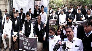 Hyderabad Ke Advocates Ne Uthai Police Zulm Ke Khilaf Apni Awaaz | Nampally |@Sach News