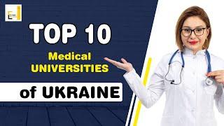 यह वीडियो यूक्रेन की टॉप 10 मेडिकल यूनिवर्सिटीज का है।