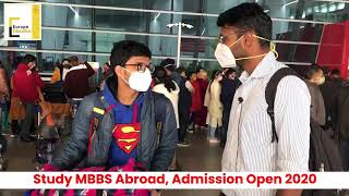 Study MBBS in Abroad. Admission Open 2020-2021.