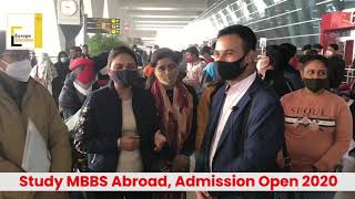 First Batch Departure for MBBS Abroad, Ukraine