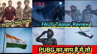 FAUG Game Teaser Review, PUBG का बाप है ये तो, Akshay Kumar's New Game Is Better Than PUBG