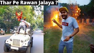 Burning DELHI'S Biggest Rawan On My Thar ?