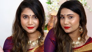 QUICK MAKEUP HACKS to attend the WEDDING PARTY | How to colour your hair colour at home