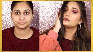 Beginners ऐसे करें New Year पर मेकअप - Complete Makeup Tutorial - Step By Step Guide | Nidhi Katiyar
