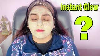 Instant Glow at Home   Face Mask   JSuper Kaur