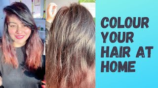 How to Colour Hair at Home | Colour Your Hair in 30 Min at Home | JSuper Kaur
