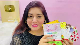 Newly Launched Mamaearth Sheet Mask Review & Demo | JSuper Kaur