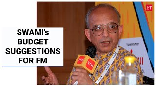 Swaminathan Aiyar shares his suggestions for FM Sitharaman's Budget 2021   Swami Speaks