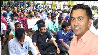 Sitting for agitation is not the solution, They should come and discuss in Panjim: CM