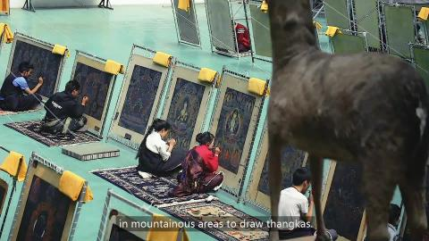 Biao Quan (表诠) Episode 01- Eric Roberts and Tibetan Thangka painting