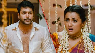Anjali Trisha Latest Telugu Full Movie Part 9   Naari Naari Naduma Murari   Jayam Ravi   Soori