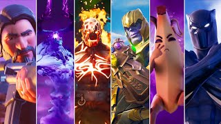 All Fortnite Cinematic Trailers, Crossover, Shorts & Cutscenes Movie (Seasons 1-15)
