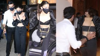 Ranbir Kapoor With GF Alia Bhatt Arrived At Ex GF Deepika Padukone Birthday Party