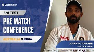 Rohit Sharma's Batting Position Confirmed, Ajinkya Rahane Press Conference, AUS vs IND Third Test