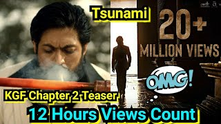 KGF Chapter 2 Teaser Becomes Fastest Teaser To Cross Over 20 Million Views In Just 12 Hours