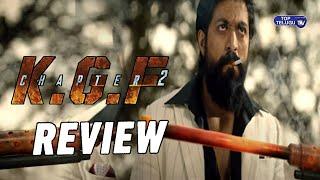 KGF Chapter2 Teaser Review   Yash,Sanjay Dutt,Raveena Tandon,Prashanth Neel   Top Telugu TV