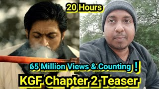KGF Chapter 2 Teaser Reaches 65 Million Views In Just 20 Hours