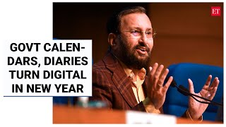 Govt does away with printed calendars, diaries; launches free app for all   Economic Times