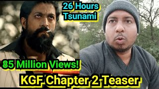 KGF Chapter 2 Teaser Reaches 85 Million Views In Just 26 Hours, 100 Million Is Awaited