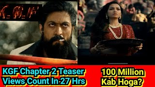 KGF Chapter 2 Teaser Crosses 88 Million Views In 27 Hours, 100 Million Views Kab Hoga? JANIYE