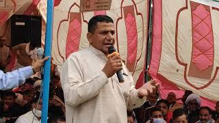 ढासा बॉर्डर धरने से प्रधान विनोद गुलिया ने सरकार को सुनाई खरी खरी।