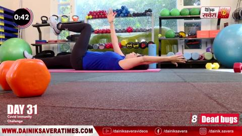 Fit with Jen    Day 31    90 Days Transformation Challenge    @8AM Daily on Dainik Savera TV