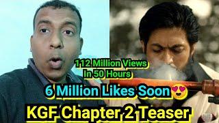 KGF Chapter 2 Teaser Crosses 112 Million Views In 50 Hours, All Set For 6 Million Likes
