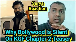 Why No Response From Bollywood Industry On KGF Chapter 2 Teaser,Rocky Is Violent,Bollywood Is Silent